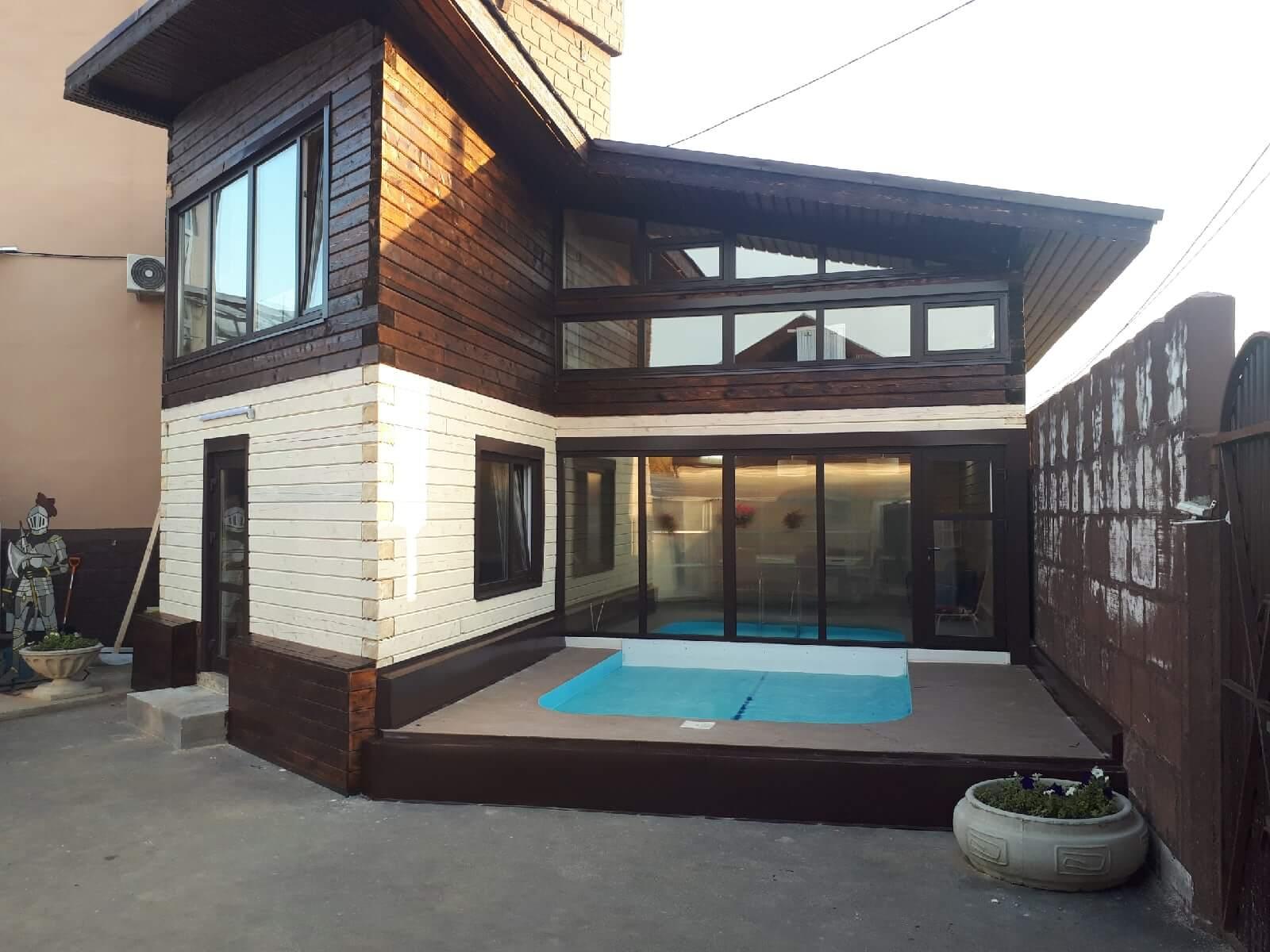 Дом №3 с жарким уличным бассейном